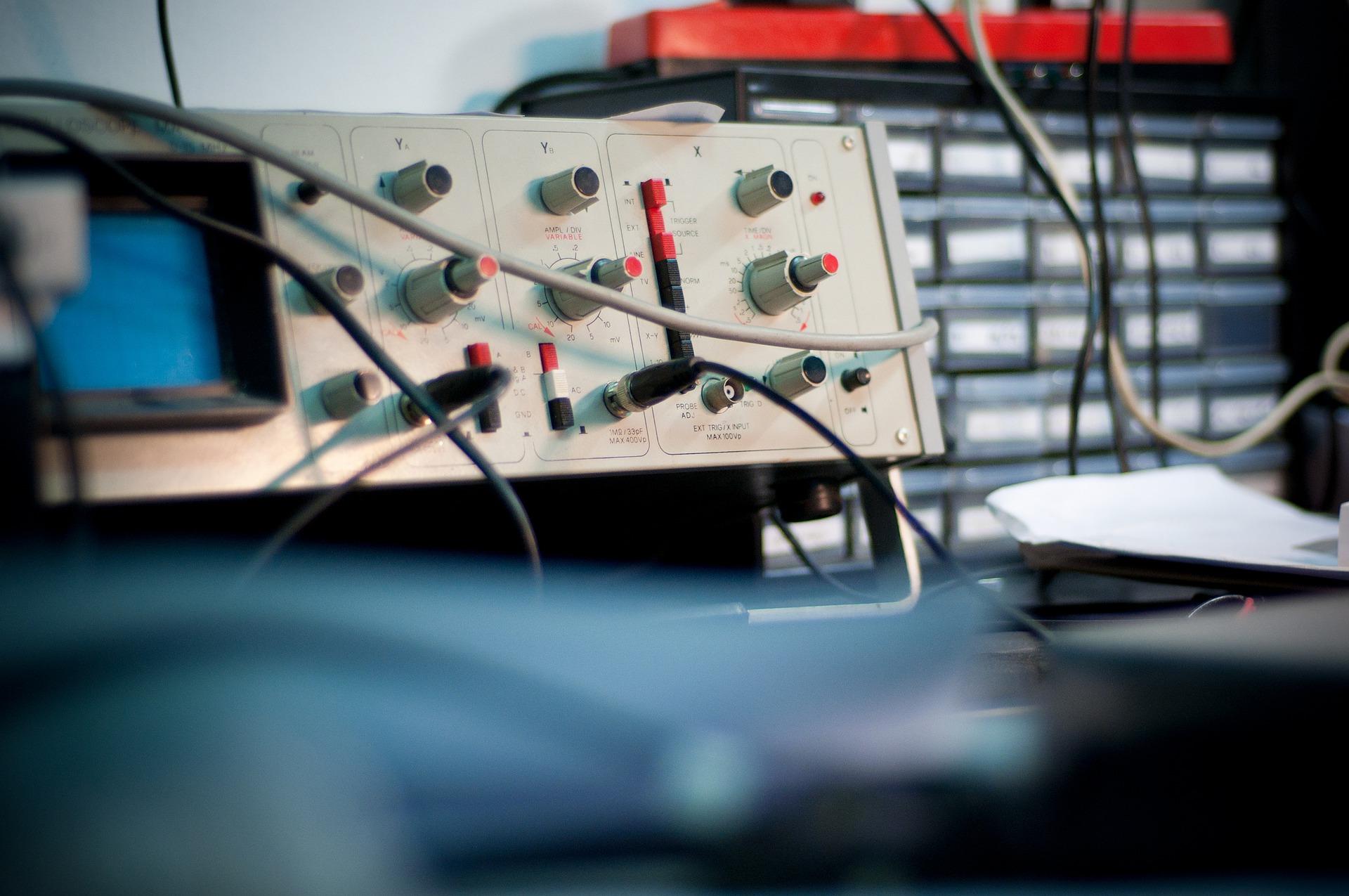 Le fonctionnement de l'oscilloscope